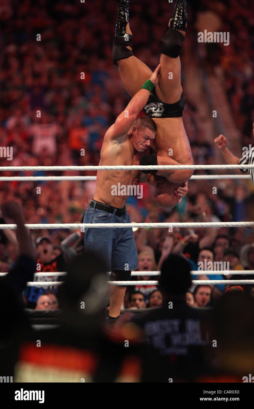 dwayne johnson wrestling