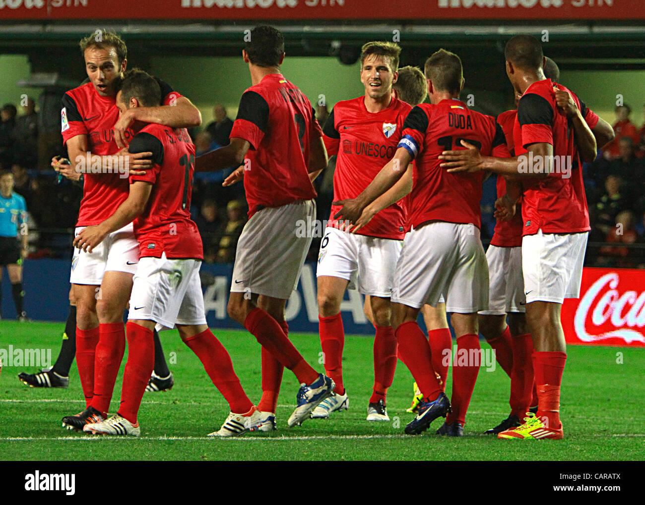 Villareal Spain  City new picture : Soccer Spain Liga Bbva Villareal Cf Vs. Malaga Cf matchday 33 ...