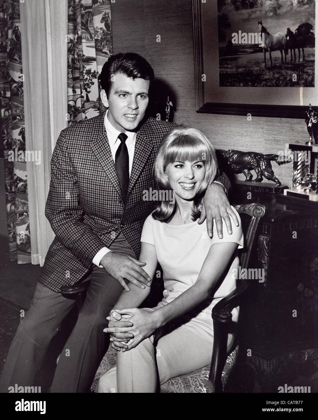 FABIAN With Wife Kate Netter Forte.Thunder Alley 1967.AKA ...
