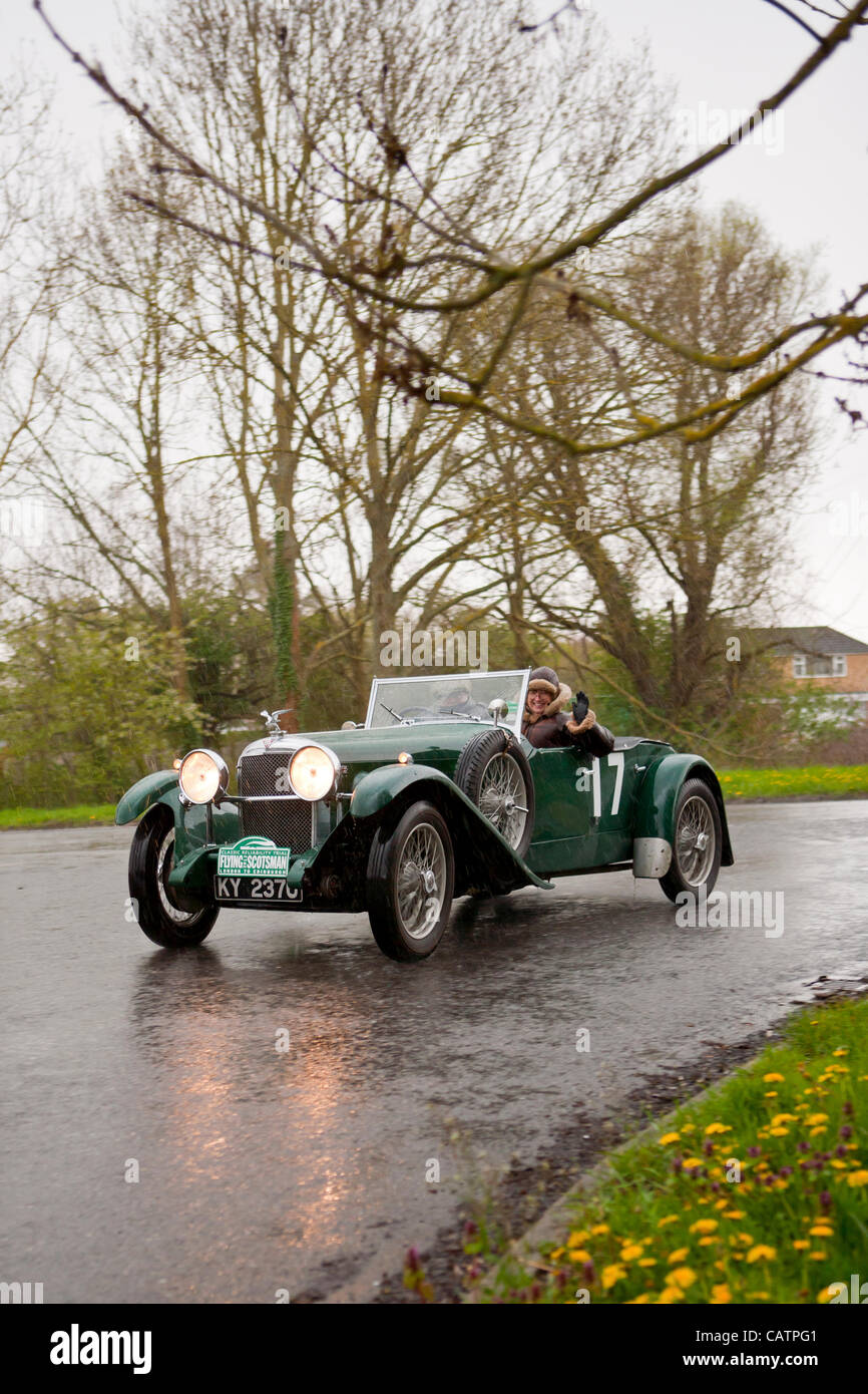 1932 Alvis Speed 20 A 1932 crewed by Graham Robertson (GB) and Stock ...