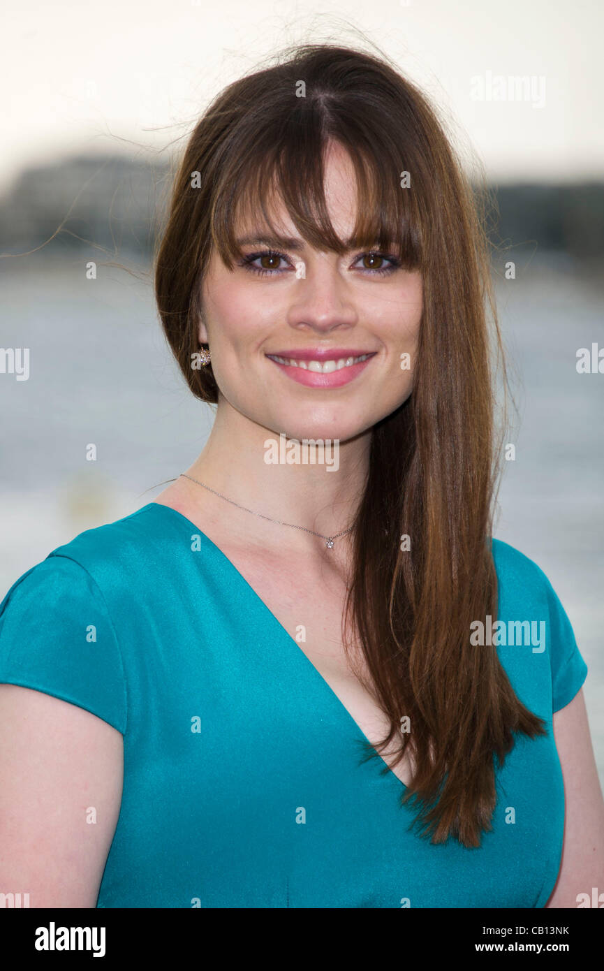 Hayley Atwell Actress Photocall Film 10 Hate Life 65th Cannes