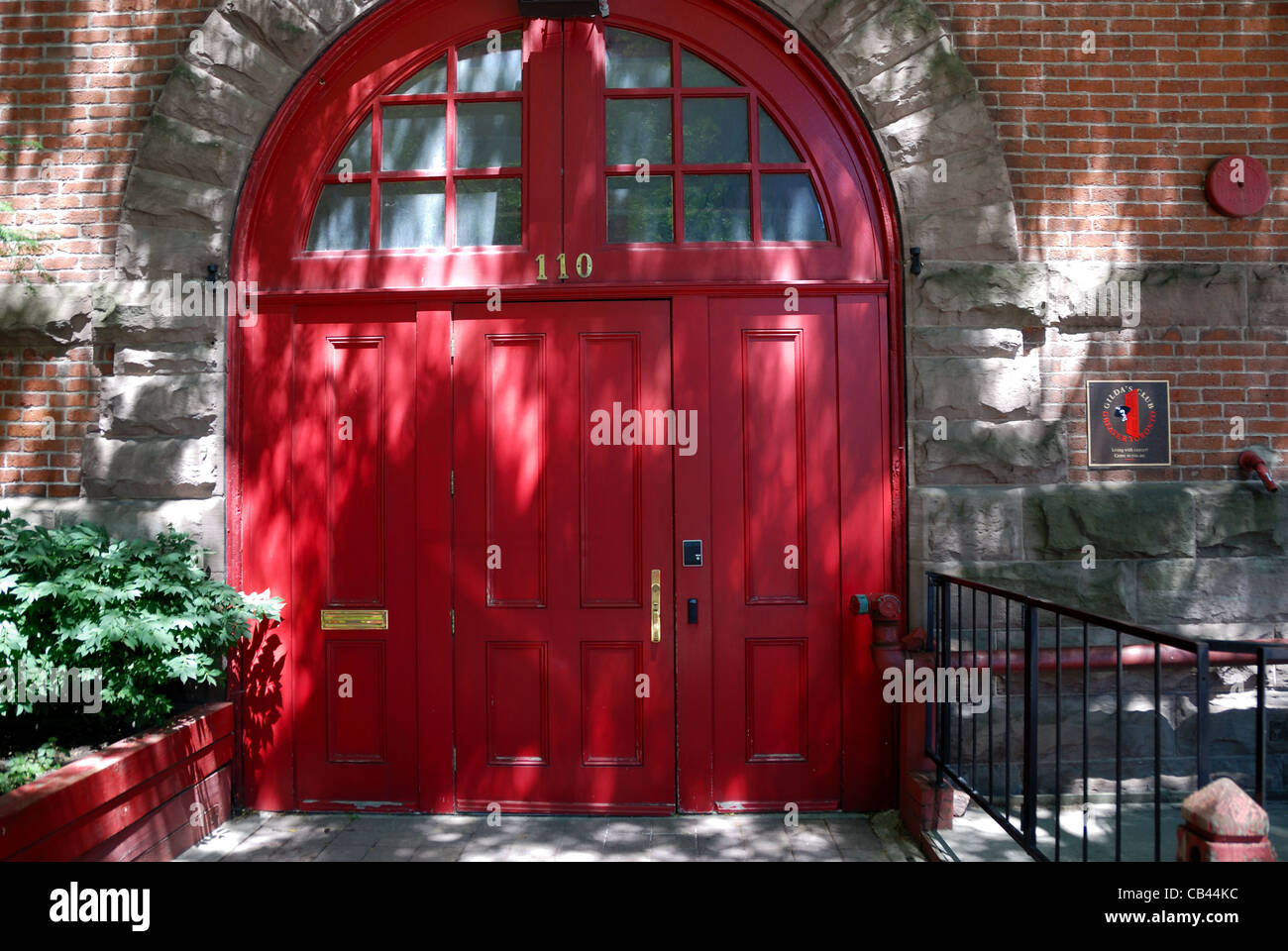 The distinctive red doors of Toronto\u0027s Old Firehall in Toronto the former home of Second City and more recently Gilda\u0027s club & The distinctive red doors of Toronto\u0027s Old Firehall in Toronto the ...