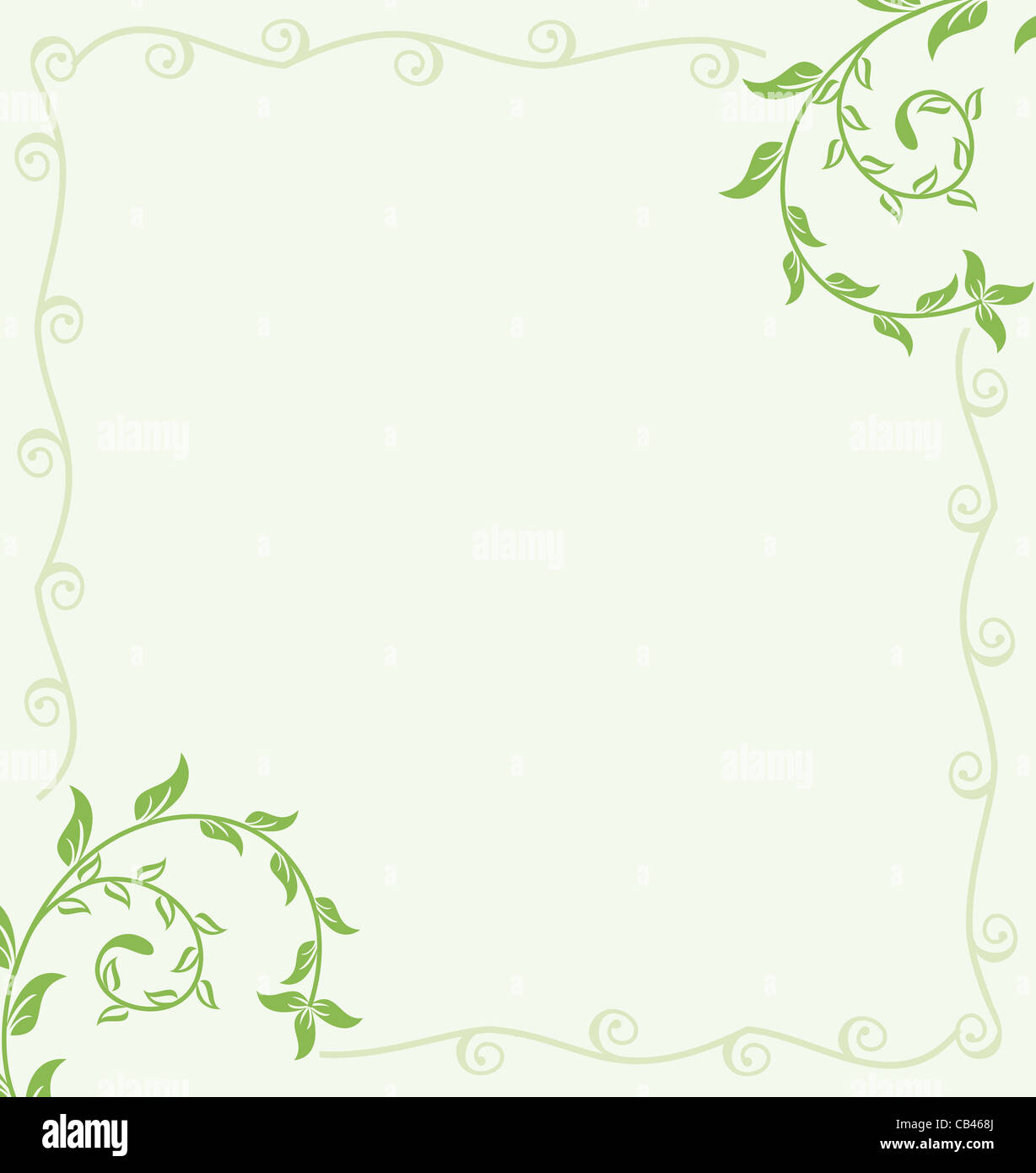 Vector green spring floral background for design card or vector green spring floral background for design card or invitation vector stopboris Image collections