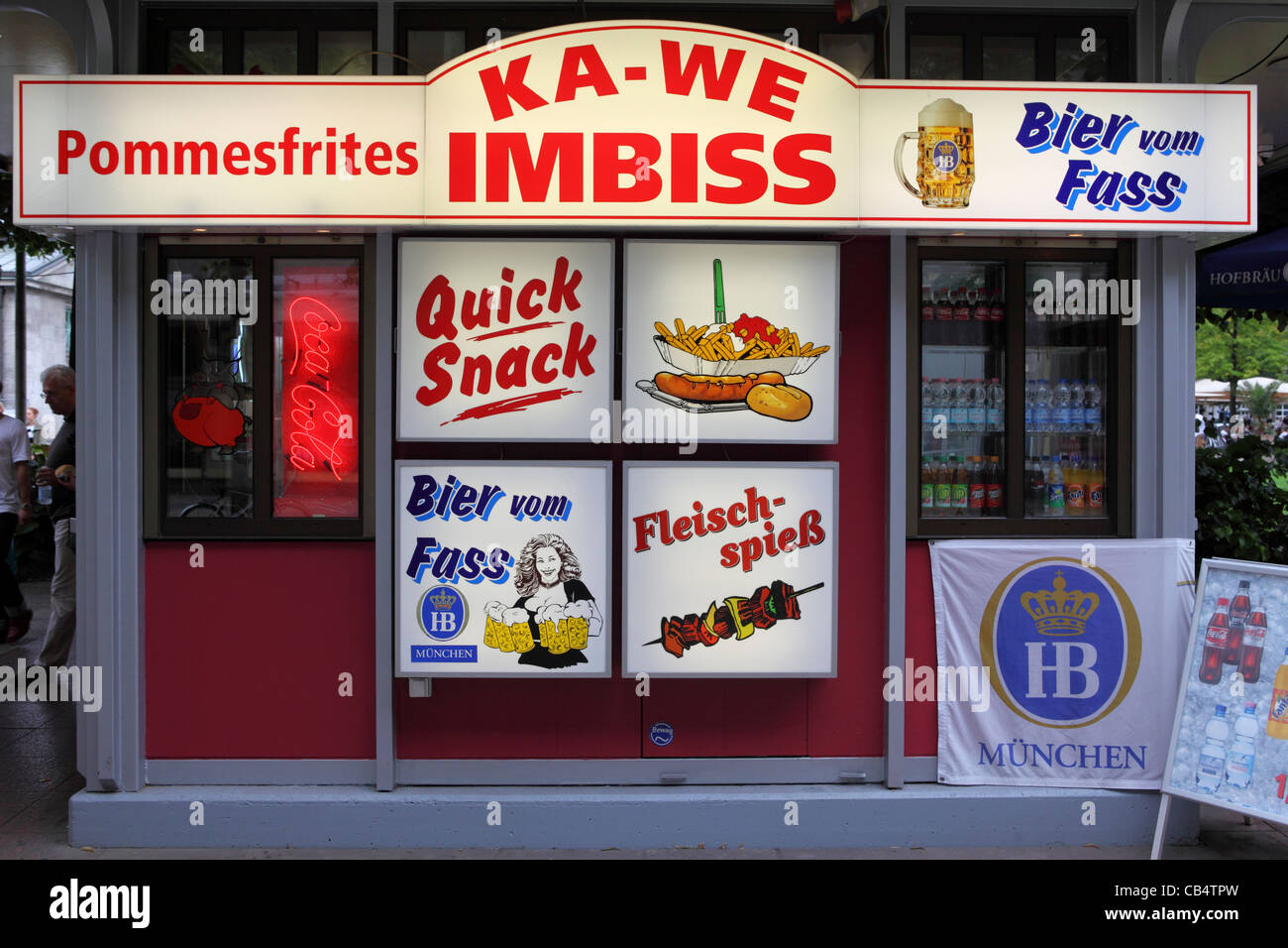 a fastfood stand imbiss in berlin germany stock photo royalty free image 41289217 alamy. Black Bedroom Furniture Sets. Home Design Ideas