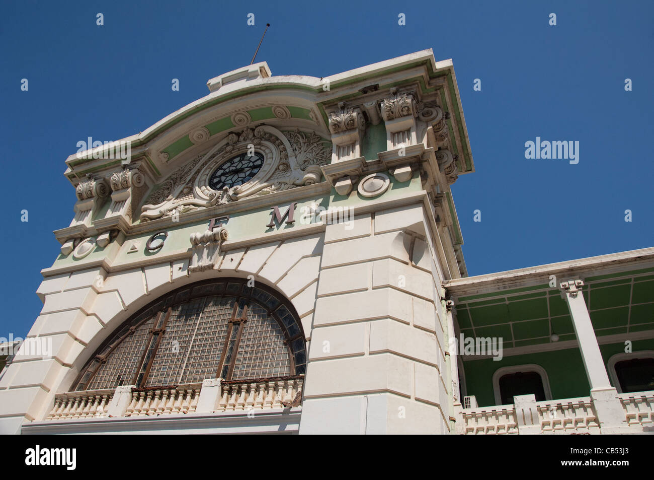 Famous French Architects africa, mozambique, maputo. central train station, designed