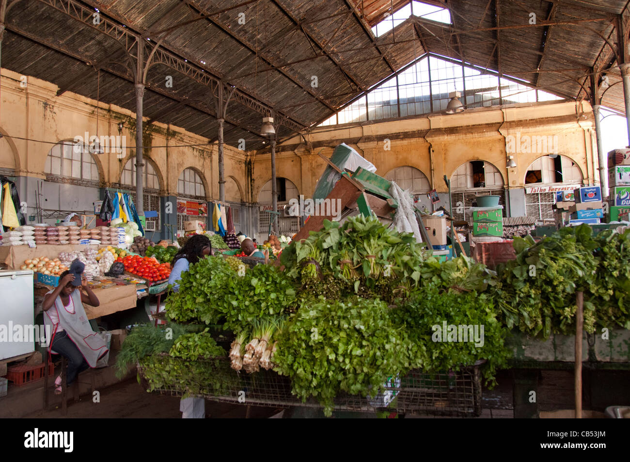 Fish Market, Maputo, Mozambique, East Africa Stock Photo ... |Maputo Mozambique Market