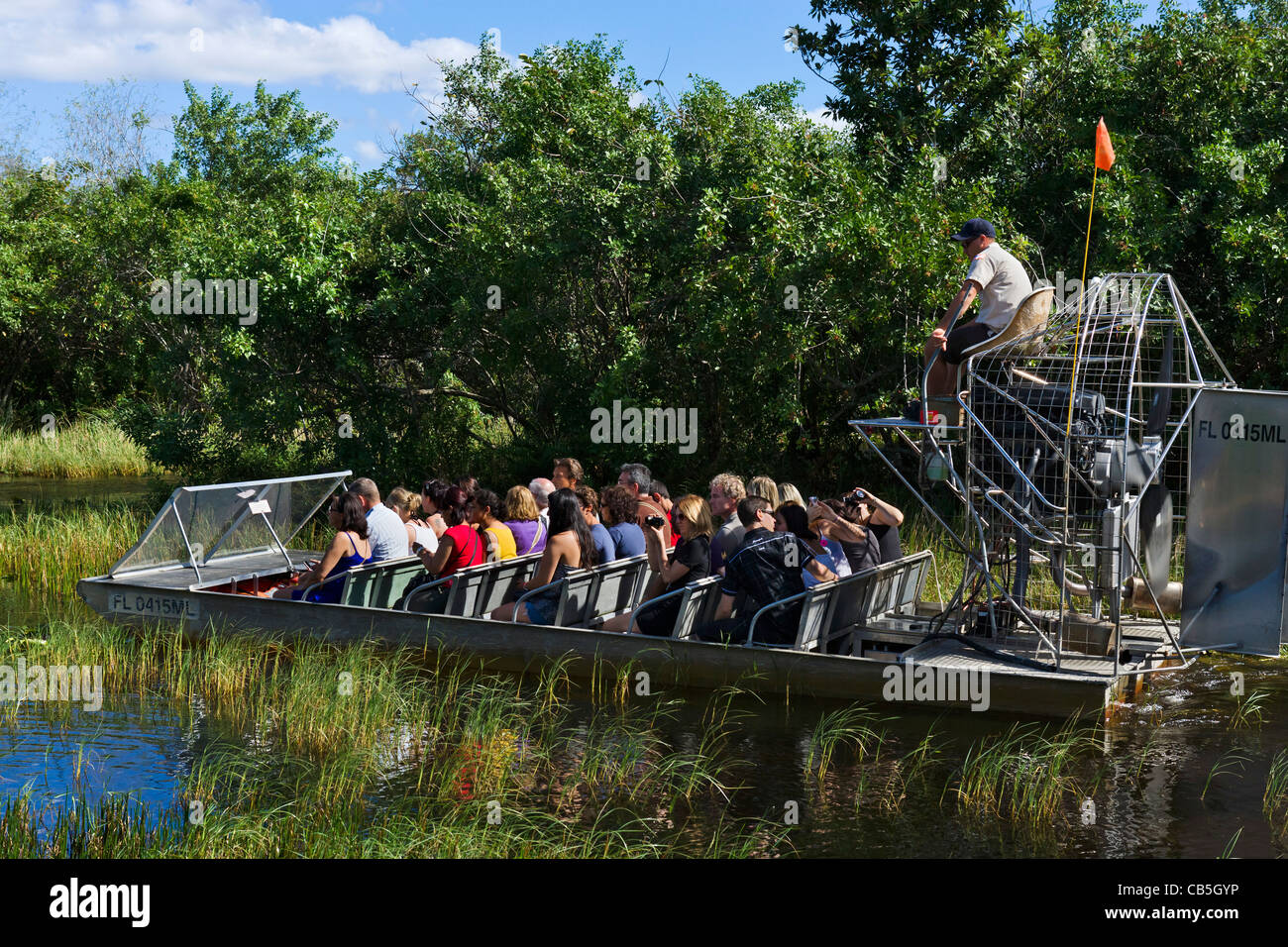 Airboat Tour At Gator Park Airboat Tours On Highway 41