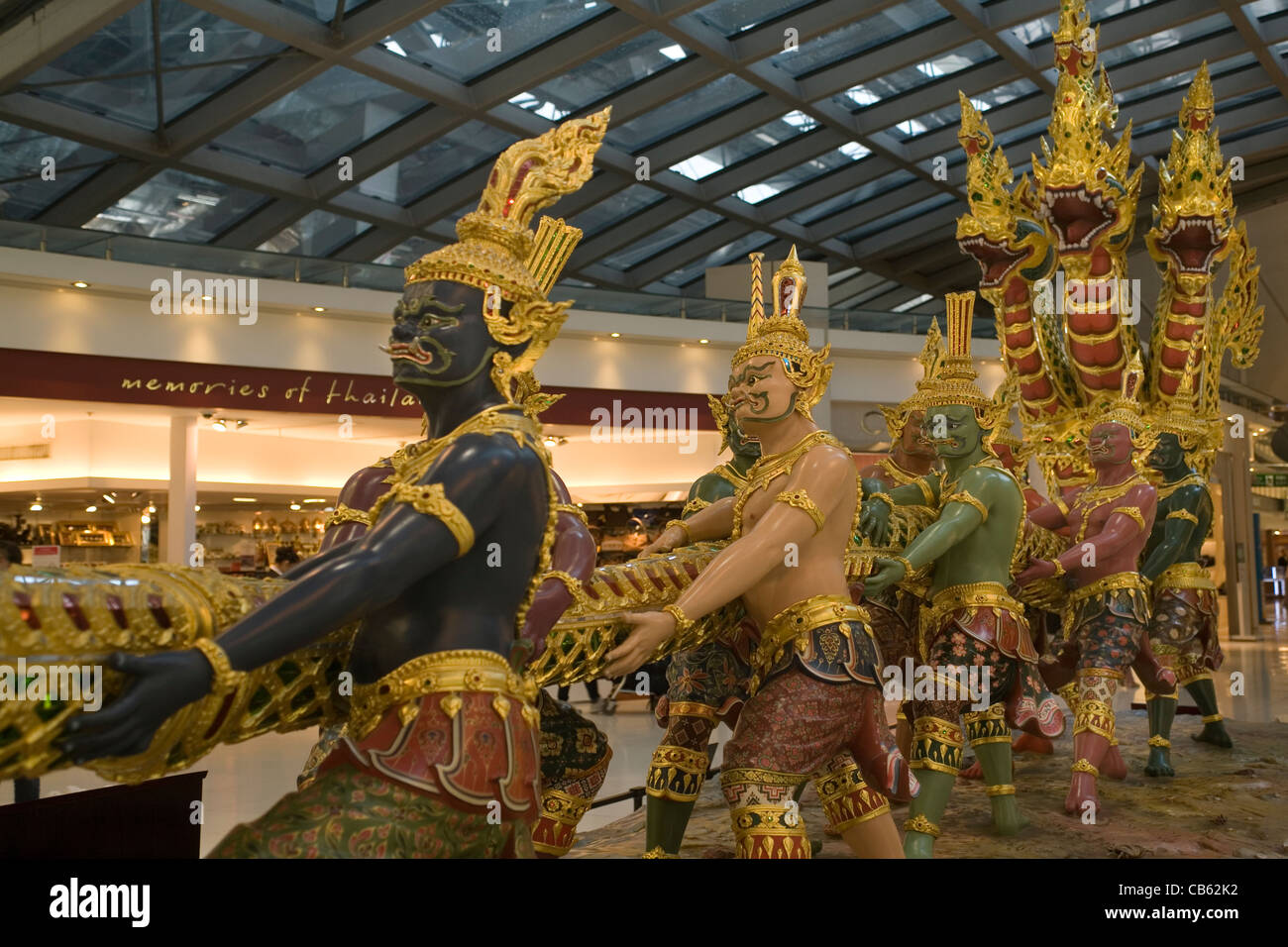 Suvarnabhumi Airport Stock Photos Suvarnabhumi Airport Stock