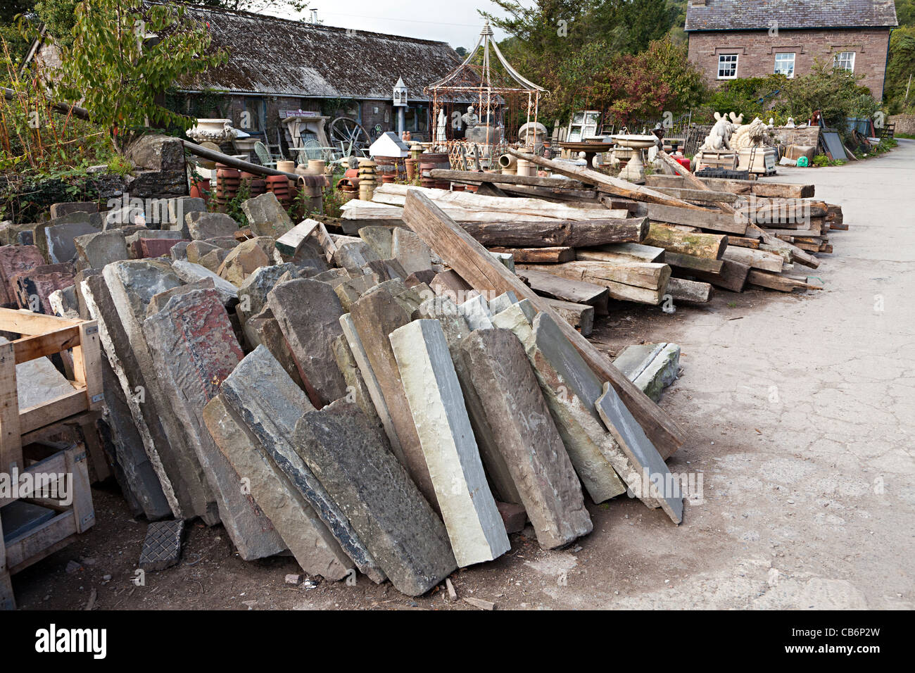 Stone lintels in architectural salvage yard wales uk stock for Architectural salvage nyc