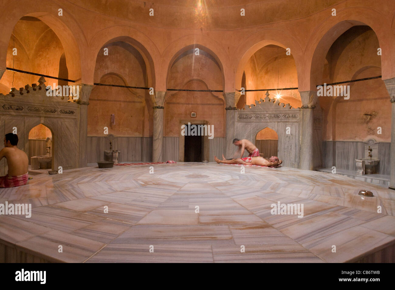 istanbul cemberlitas turkish baths hamam stock photo royalty free image 41333191 alamy. Black Bedroom Furniture Sets. Home Design Ideas