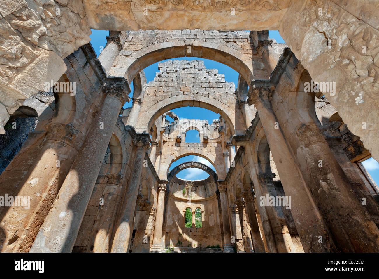 Alahan Monastery, 4. century A.D., Mut Mersin Turkey Stock ...