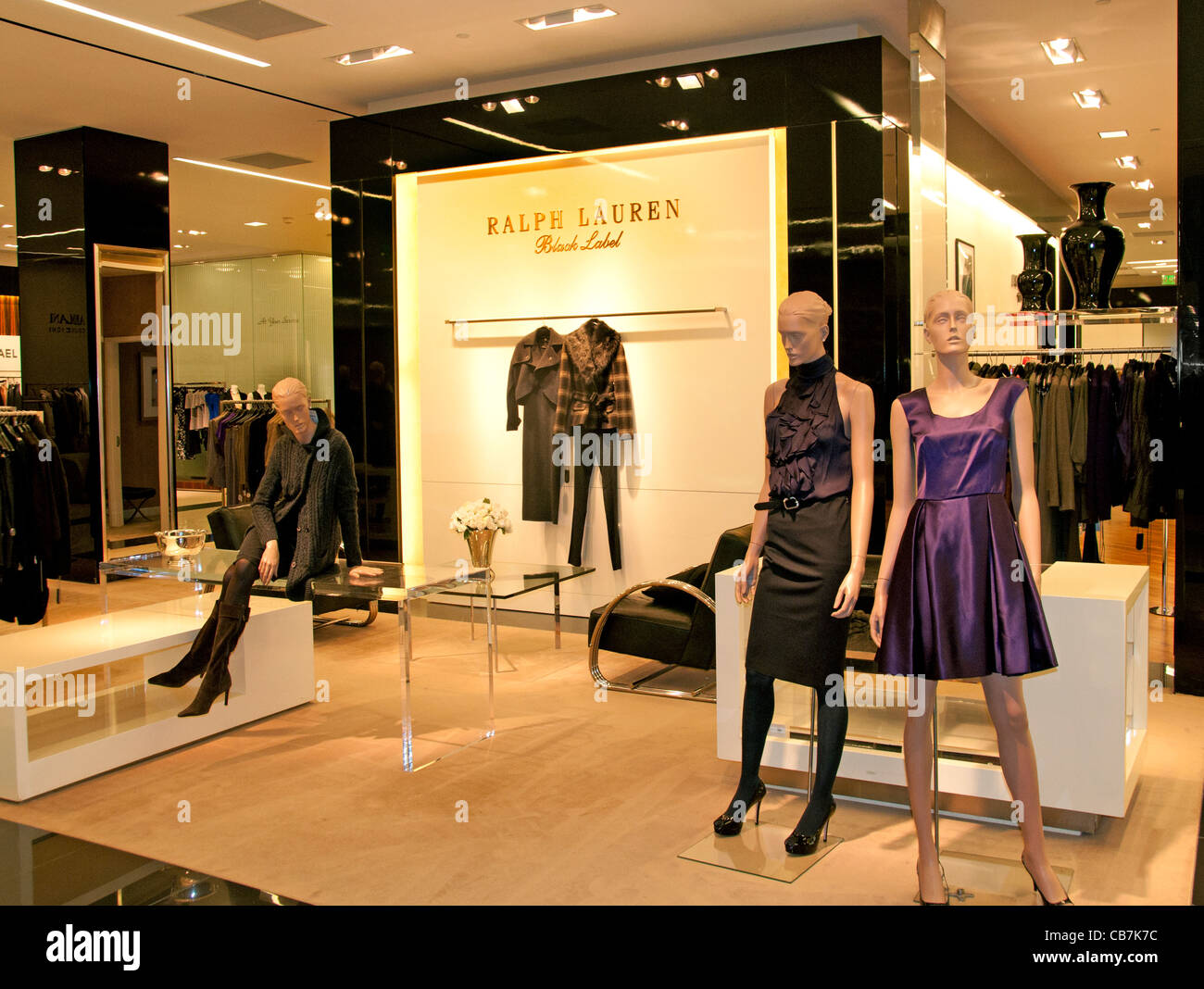 Ralph Lauren San Francisco California Fashion shop store USA Stock ...