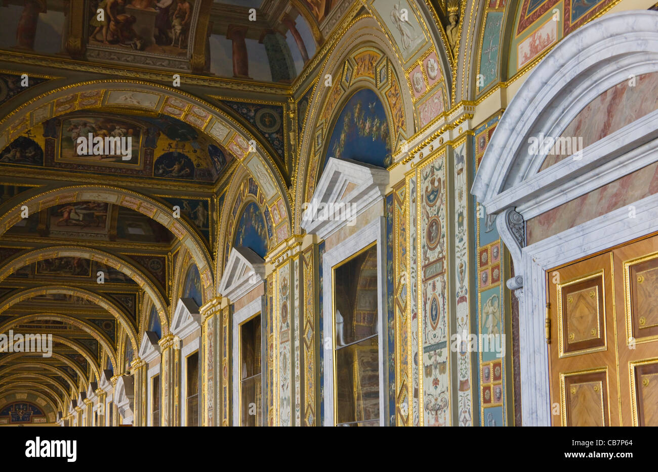 Inside winter palace russia