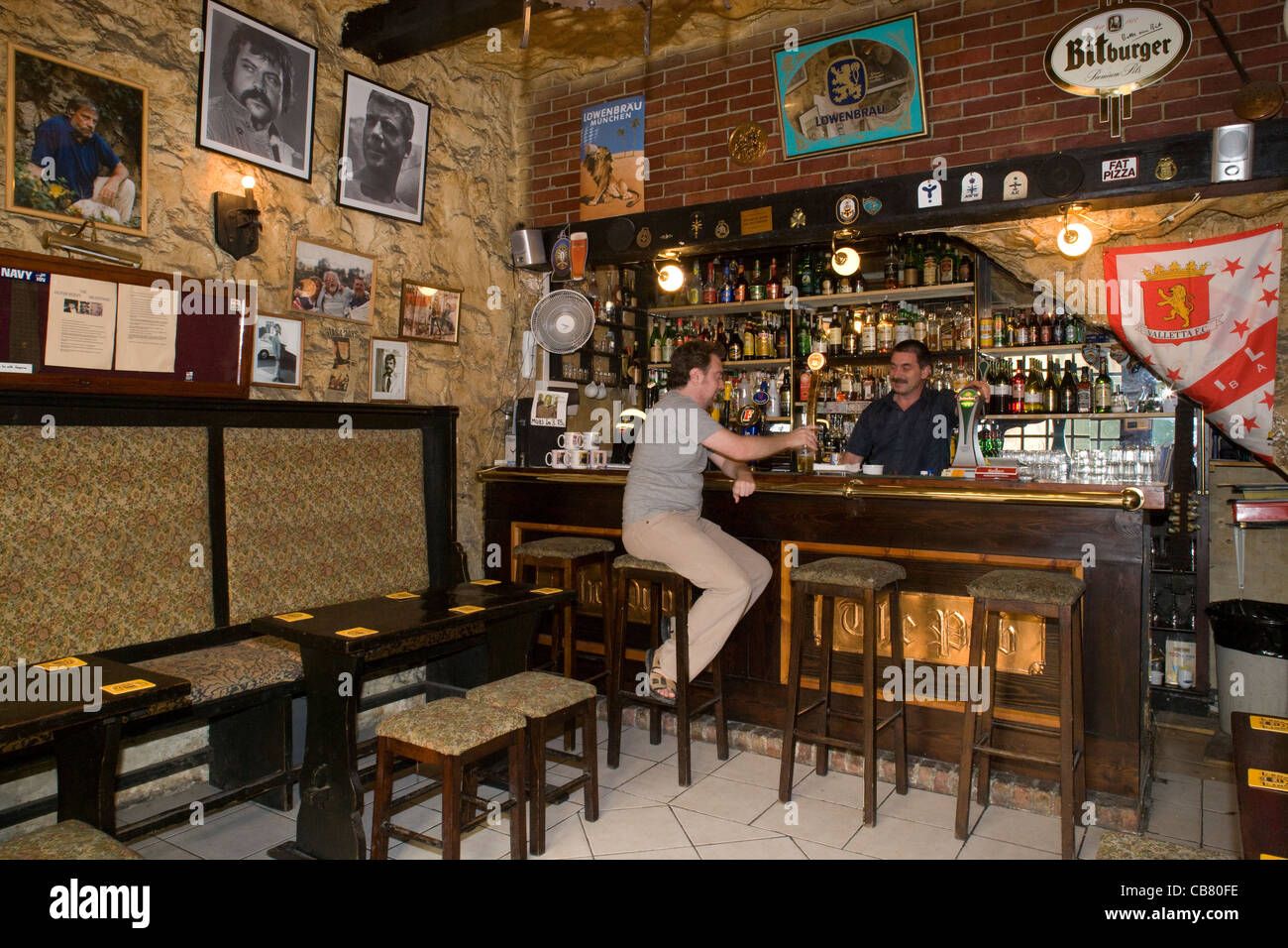 valletta the pub where oliver reed died whilst filming