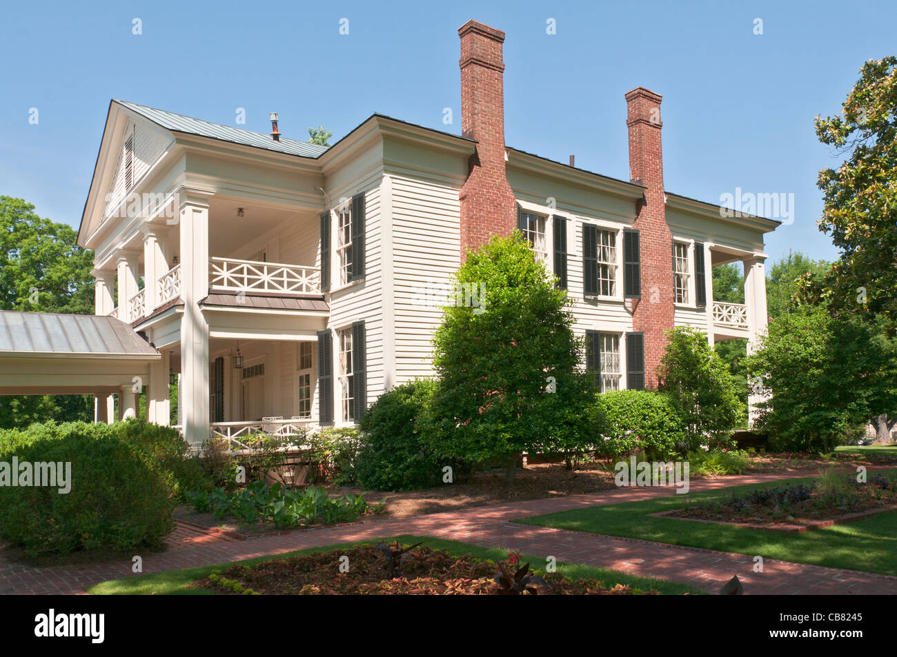 Alabama Birmingham Arlington Antebellum Home And Gardens Stock Photo Royalty Free Image