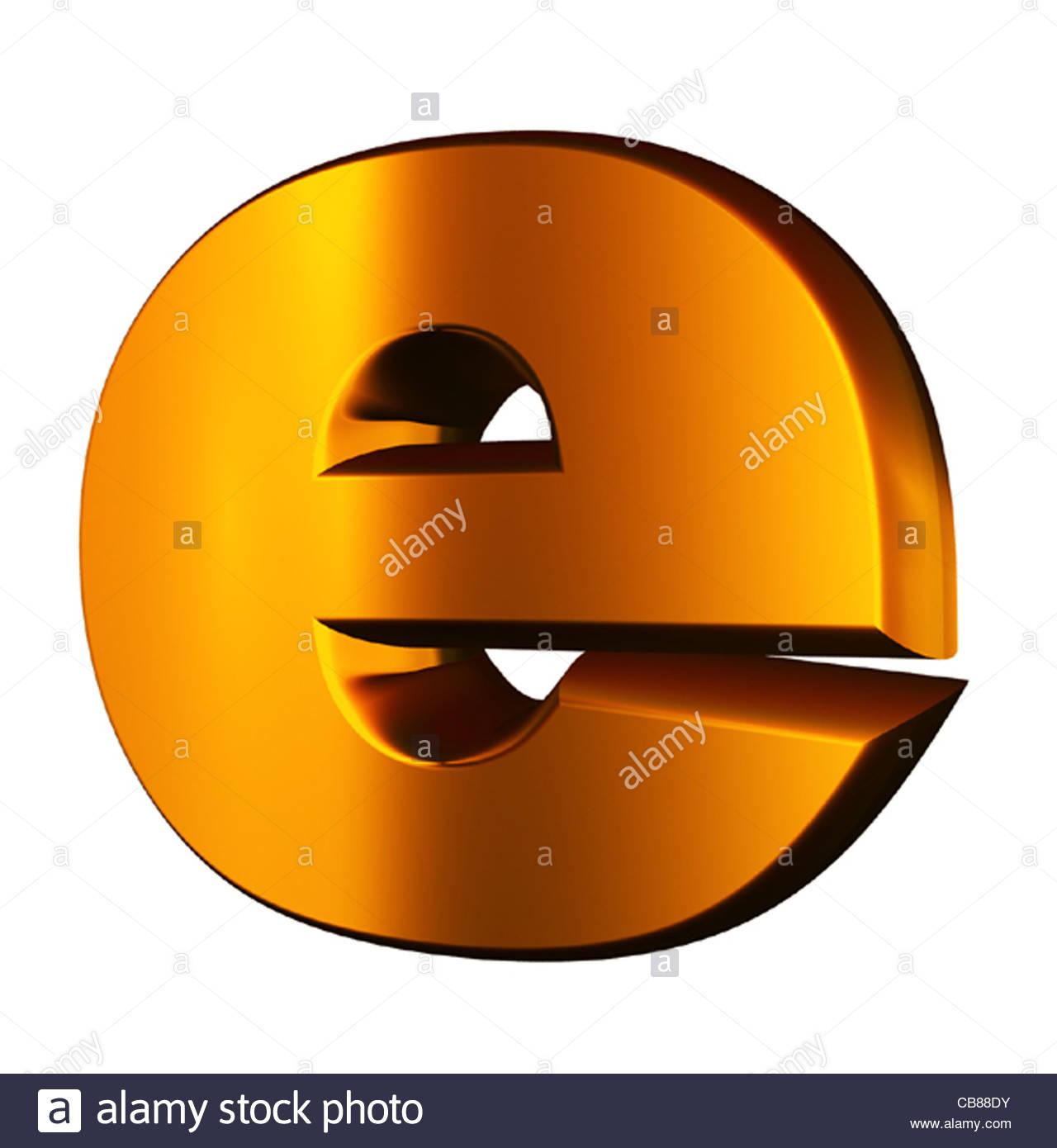 Symbol at bottom of internet explorer