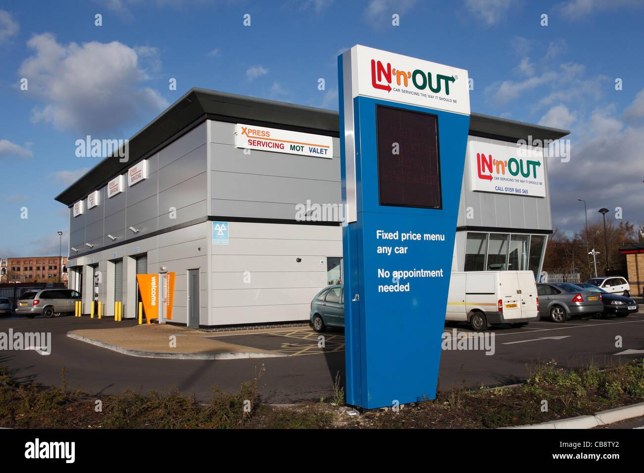Car Garage Repairs Nottingham