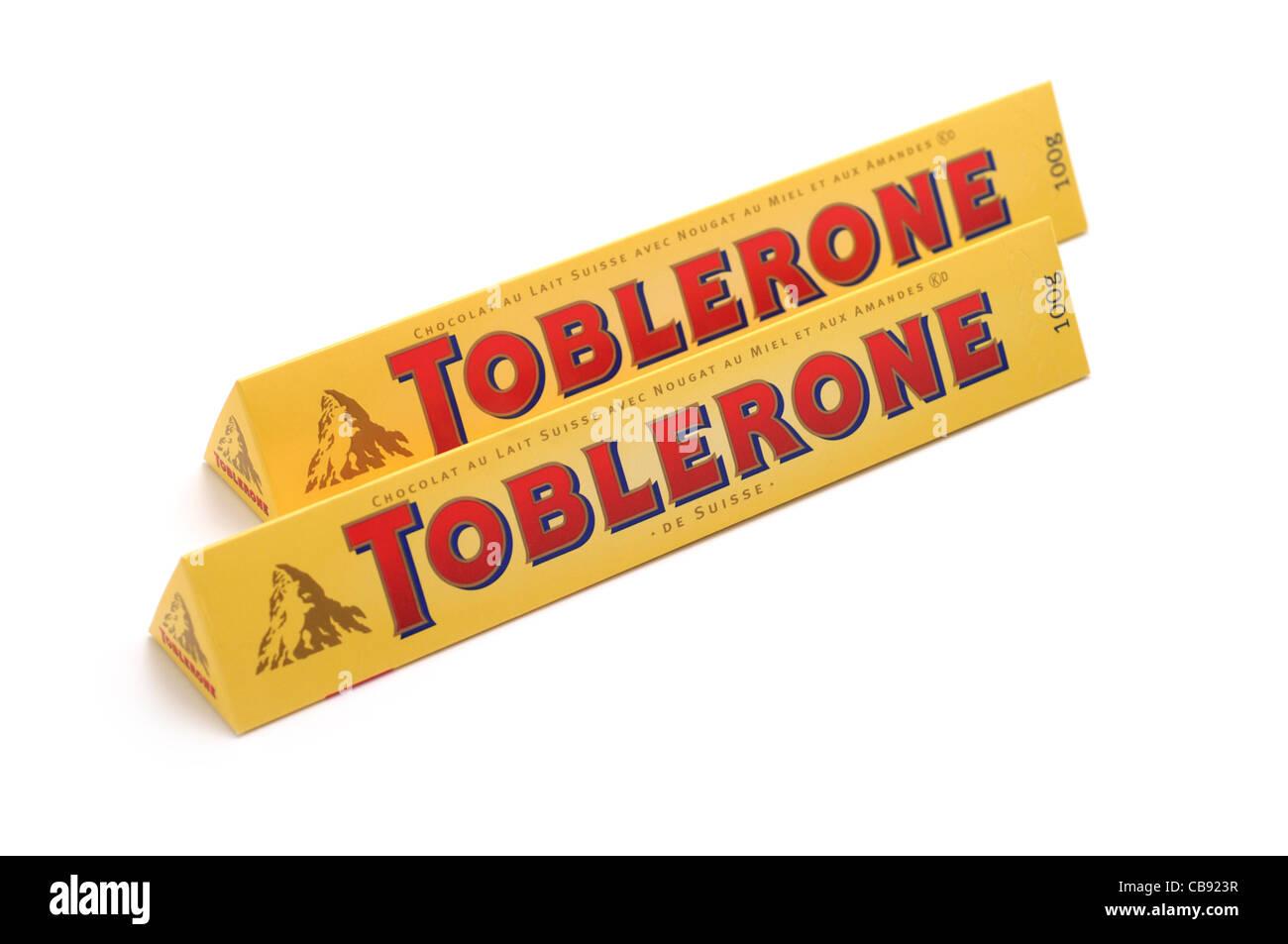 Toblerone, Swiss Chocolate (Almonds, Honey, Nougat Stock Photo ...