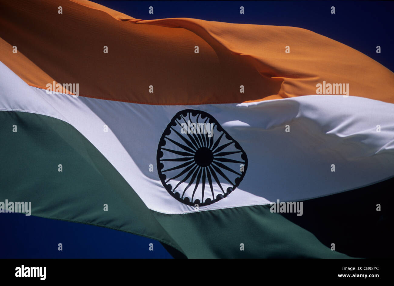 national flag colours of india stock photo royalty free image