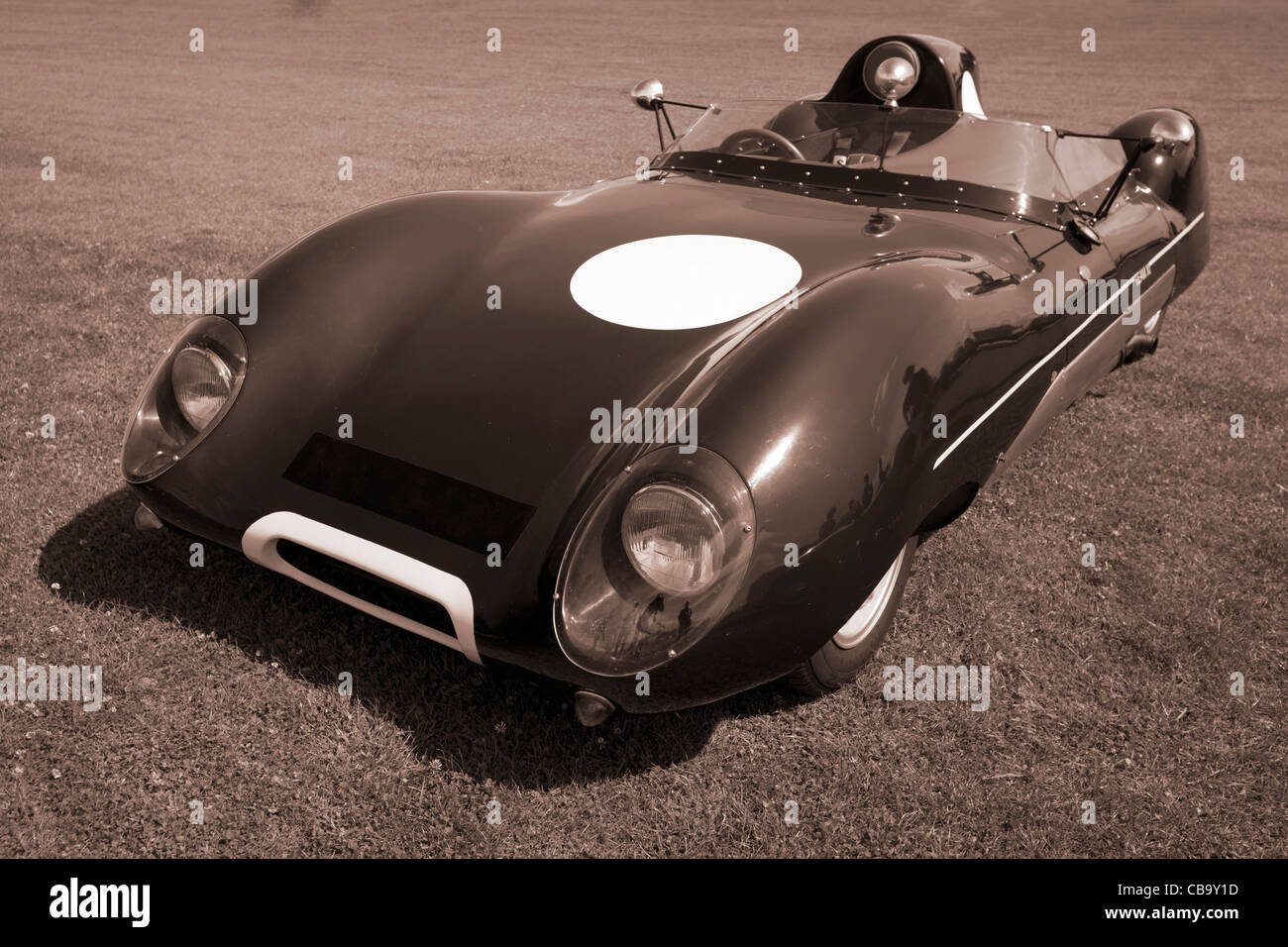 Old Race car sepia Stock Photo: 41400729 - Alamy
