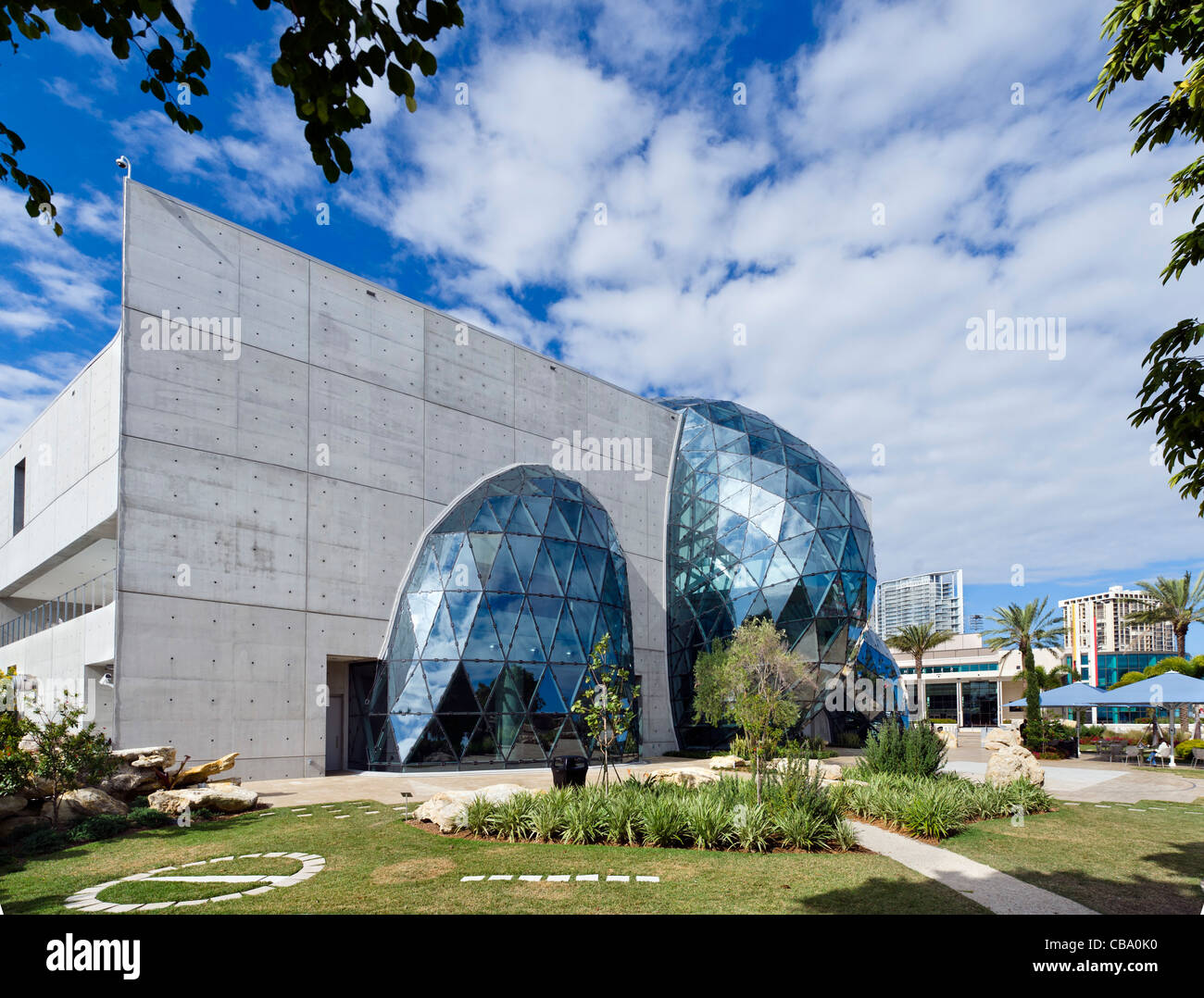 The New Salvador Dali Museum Taken From The Museum Garden, St Petersburg,  Florida, USA Great Ideas