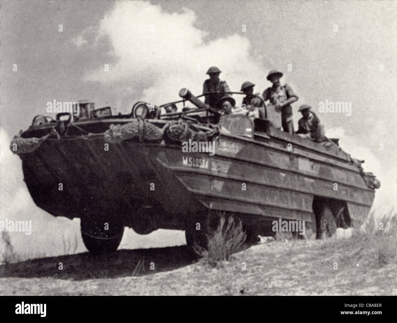 DUKW (Duck) six-wheel-drive amphibious truck of WW11 Stock Photo ...