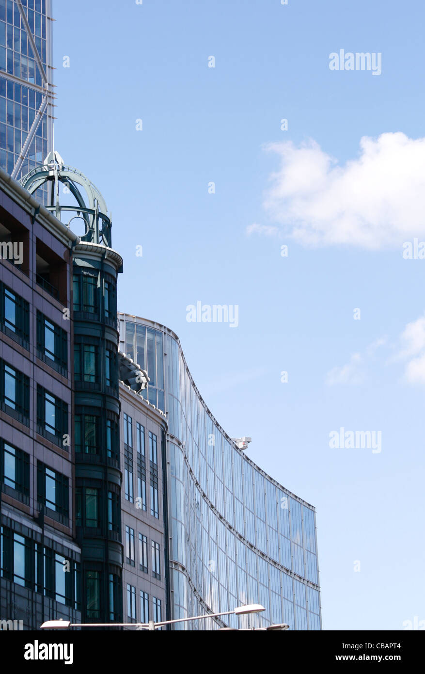Tall City Buildings in London UK Stock Photo Royalty Free Image