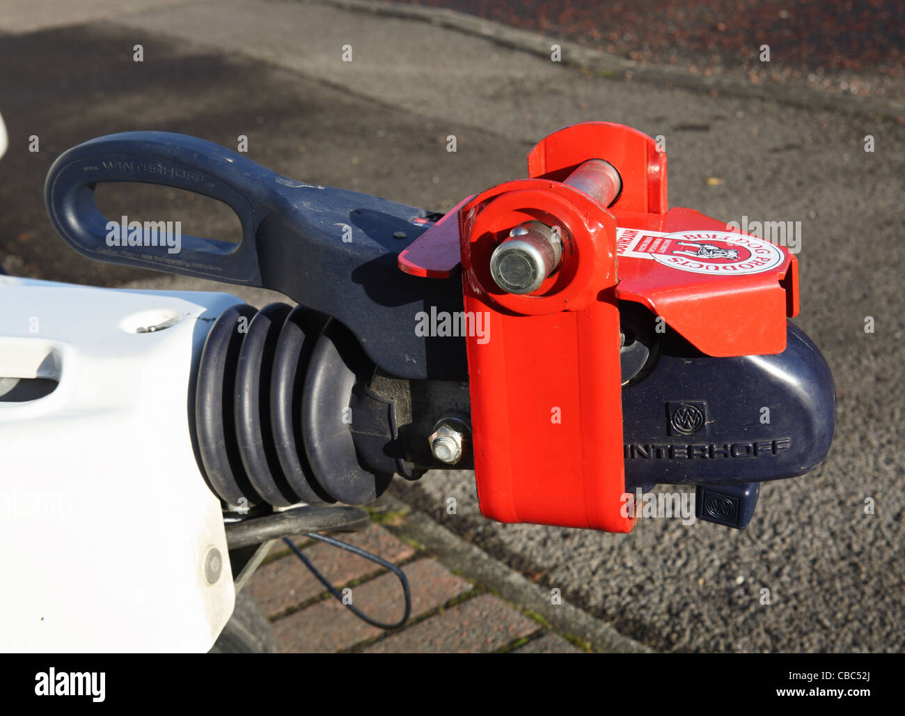 Nice Pit Bike Wiring Thin Dimarzio Switch Shaped Free Technical Service Bulletins Online Di Marizo Youthful Strat Wiring Bridge Tone WhiteAlarm And Remote Start Installation Caravan Or Trailer Security Hitch Lock Made By Bulldog Stock Photo ..