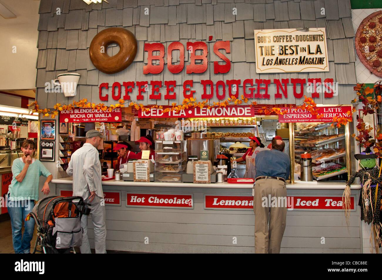The grove farmers market bob 39 s coffee dougnuts los angeles for Bob s fish market