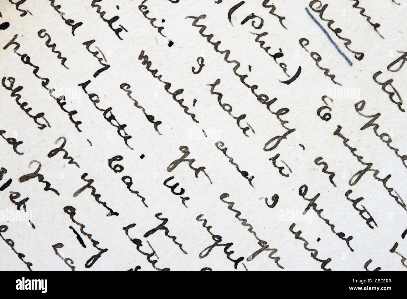 cursive writing stock photos u0026 cursive writing stock images alamy