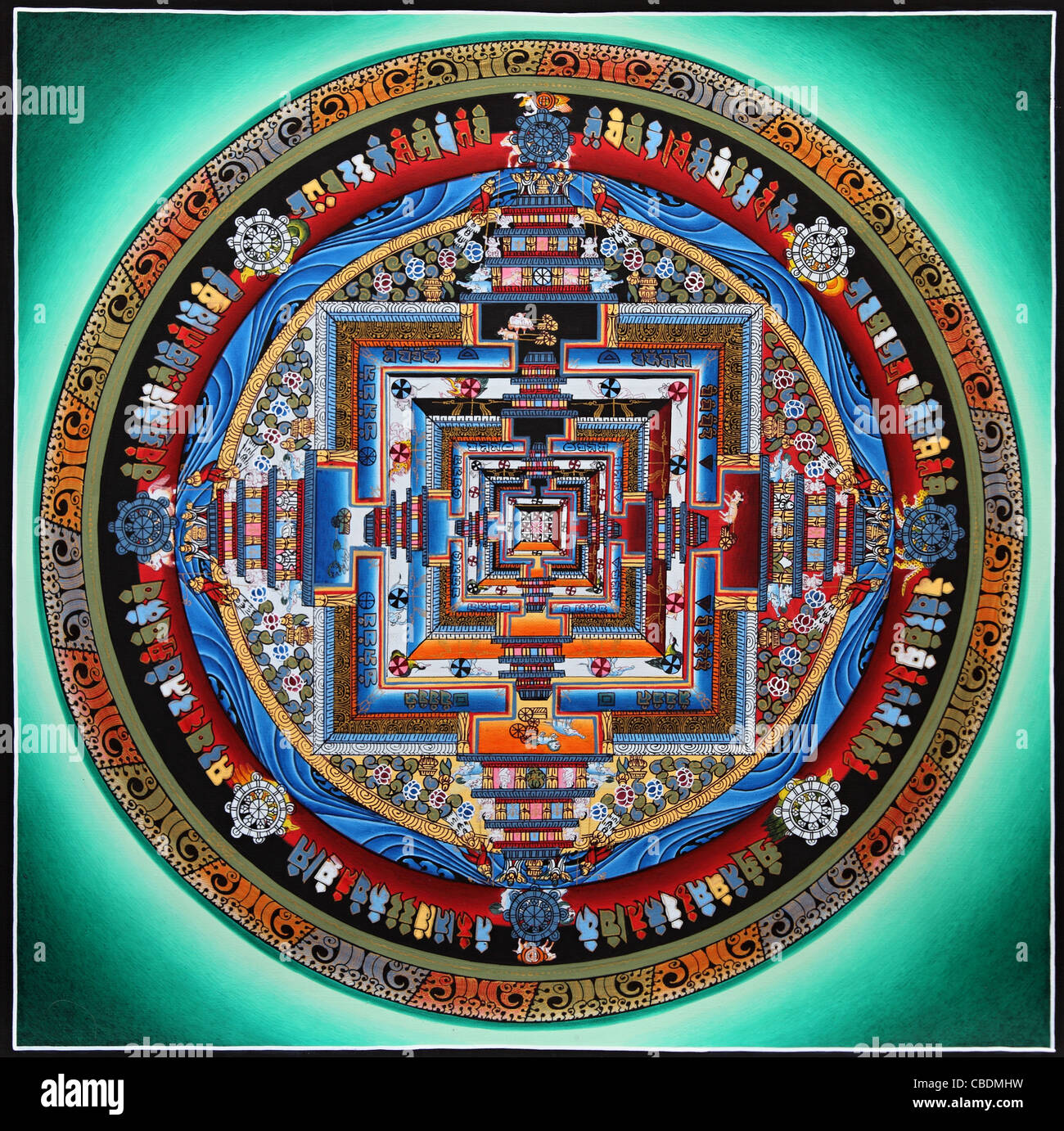 The Indian Mandala - what is this symbol