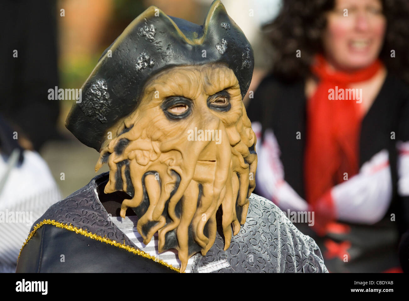 Child Dressed up as Davy Jones from the Pirates of the Caribbean ...