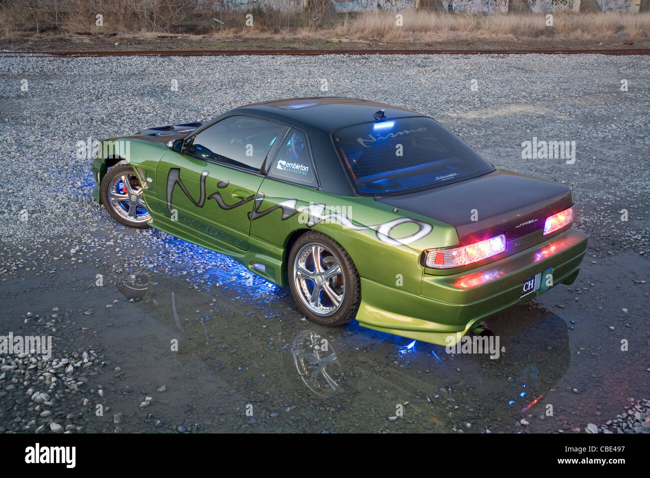 Boy Racer Car Customised Stock Photos Boy Racer Car Customised