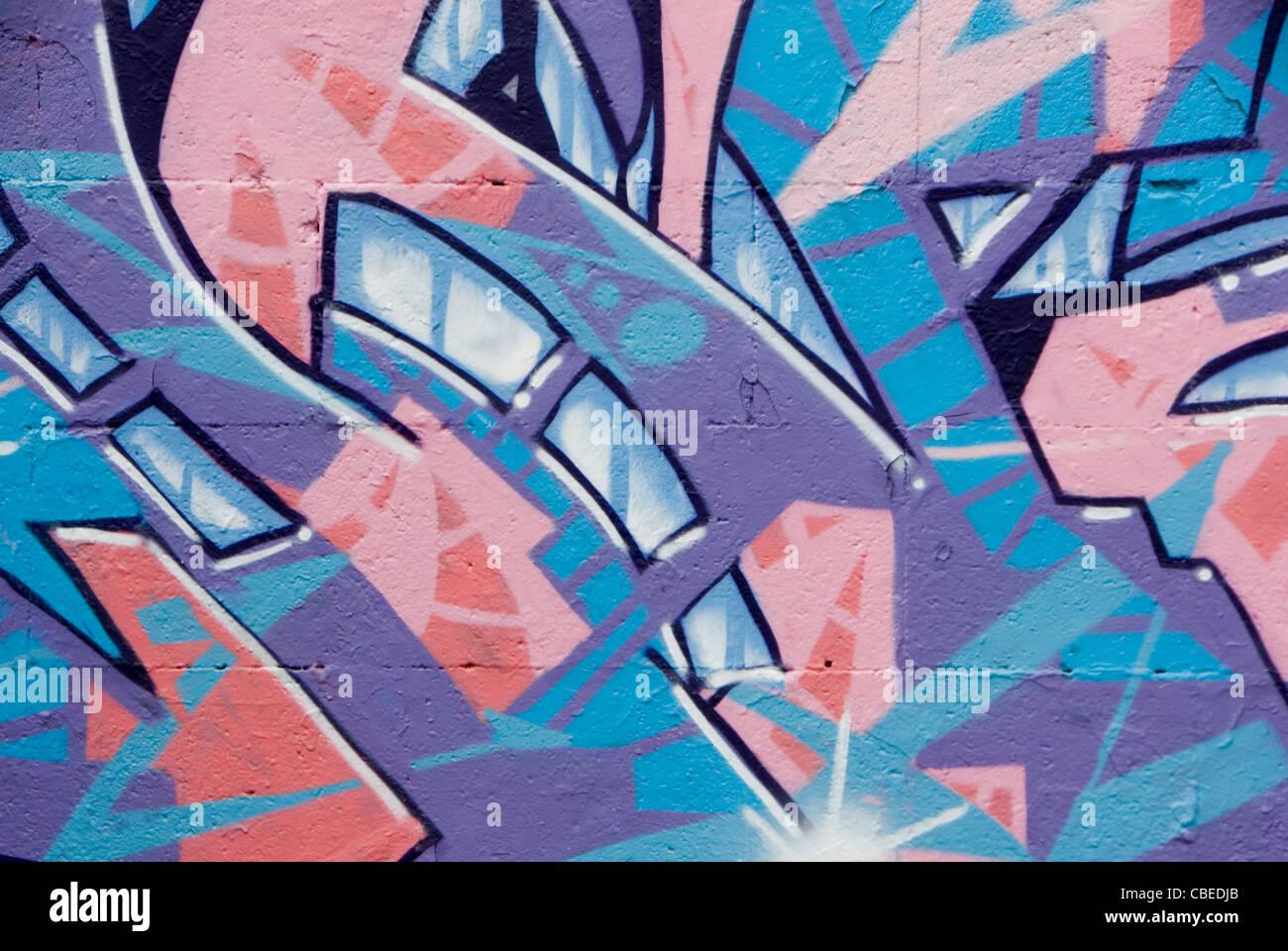 Graffiti art background - Pink Purple Abstract Graffiti Art Background Sheffield Uk