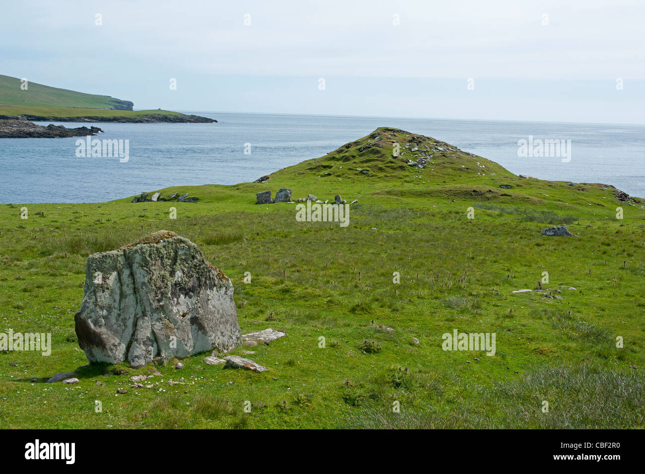 bressay stone shetland Hill of cruester, bressay (standing stone / menhir) on the modern antiquarian, the uk & ireland's most popular megalithic community website 1 news item, 5 images, 2.