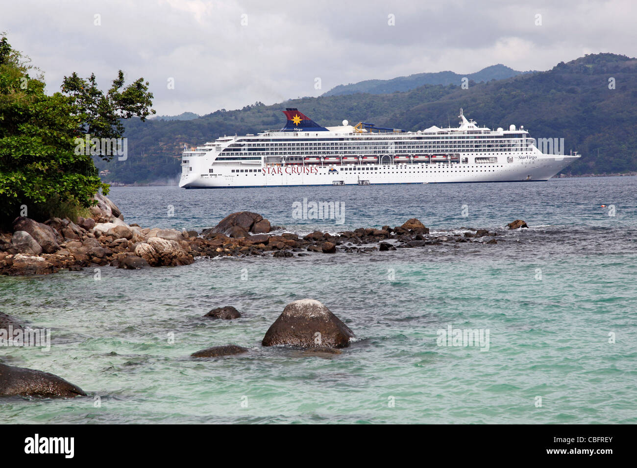 Star Virgo From Star Cruises Cruise Ship In Patong Phuket - Cruise ship in thailand