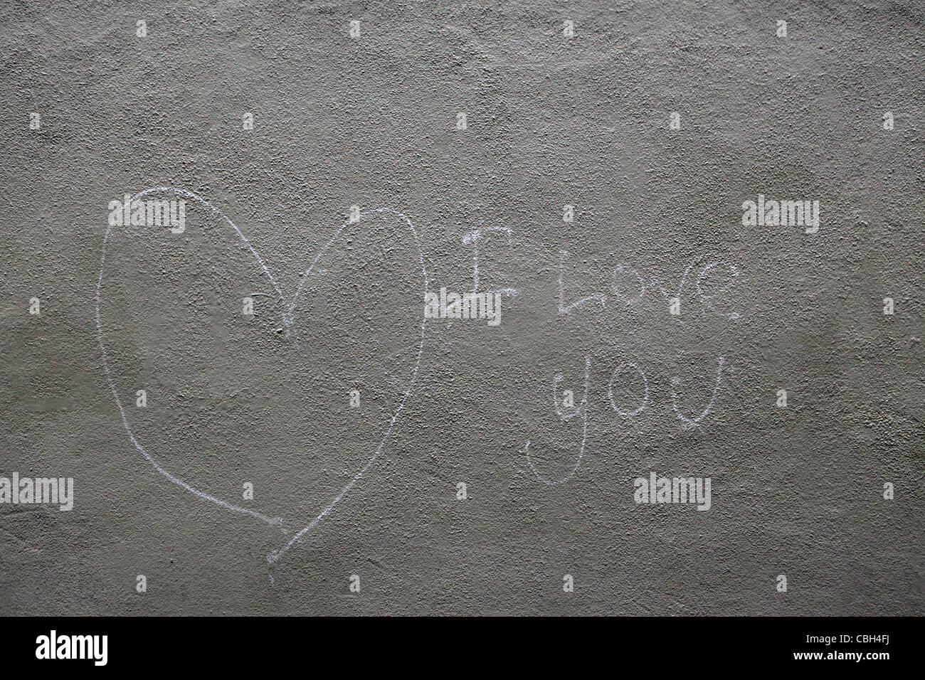 Graffiti wall usa -  I Love You And Heart Graffiti Wall In Manhattan Nyc Usa