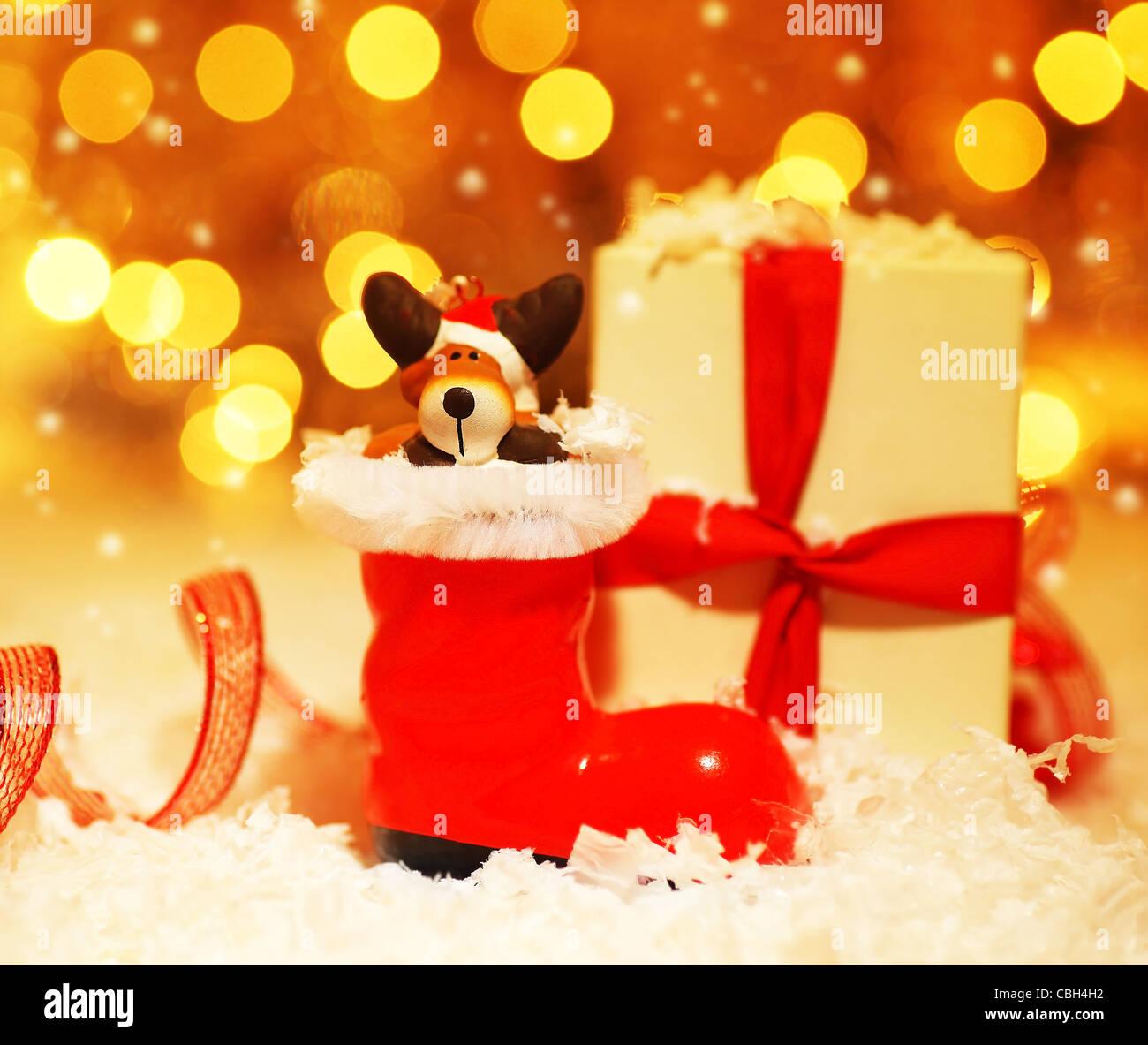 Santa Boot Stock Photos & Santa Boot Stock Images - Alamy