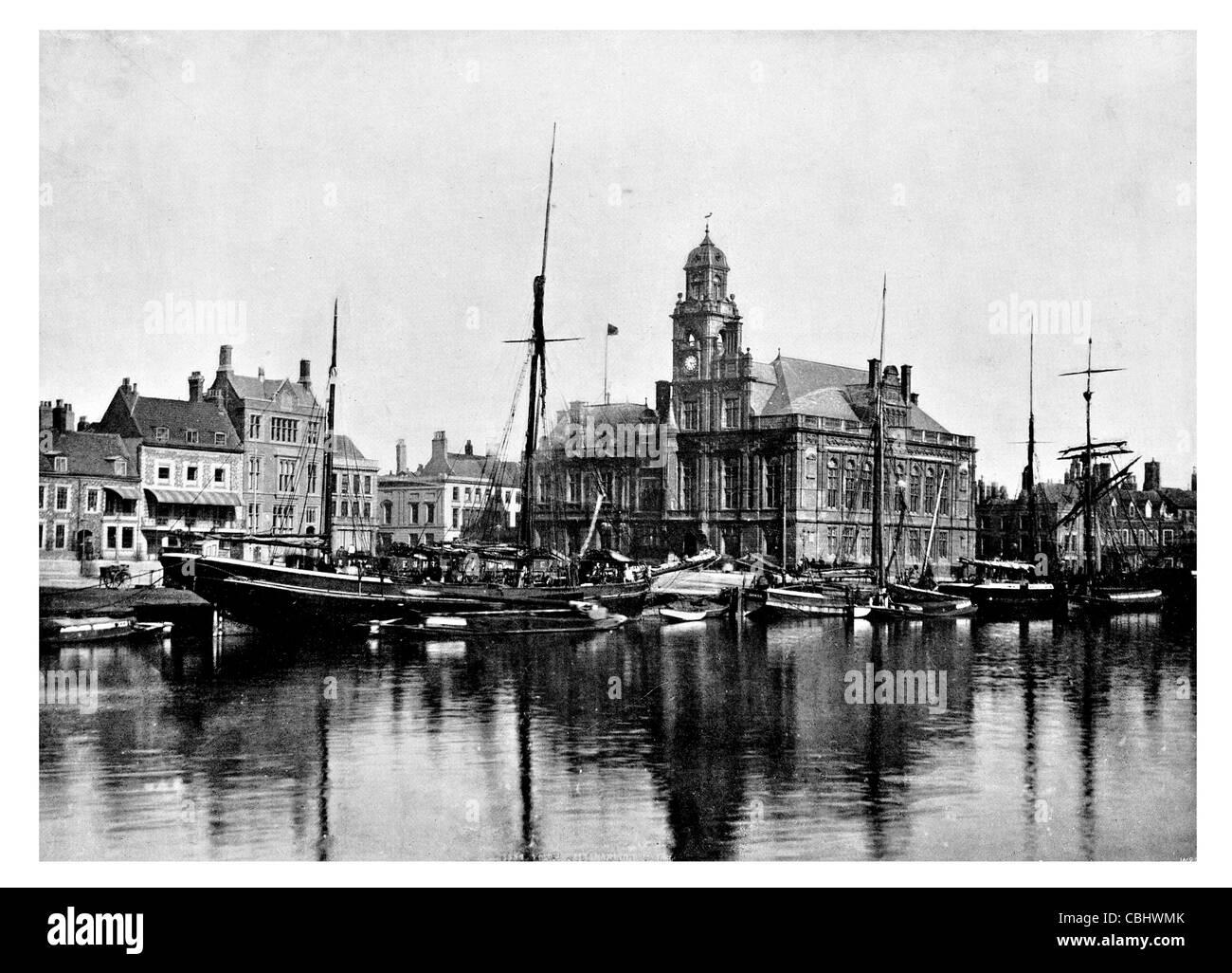 Great Yarmouth Town Hall Quay coastal Norfolk seaside ...