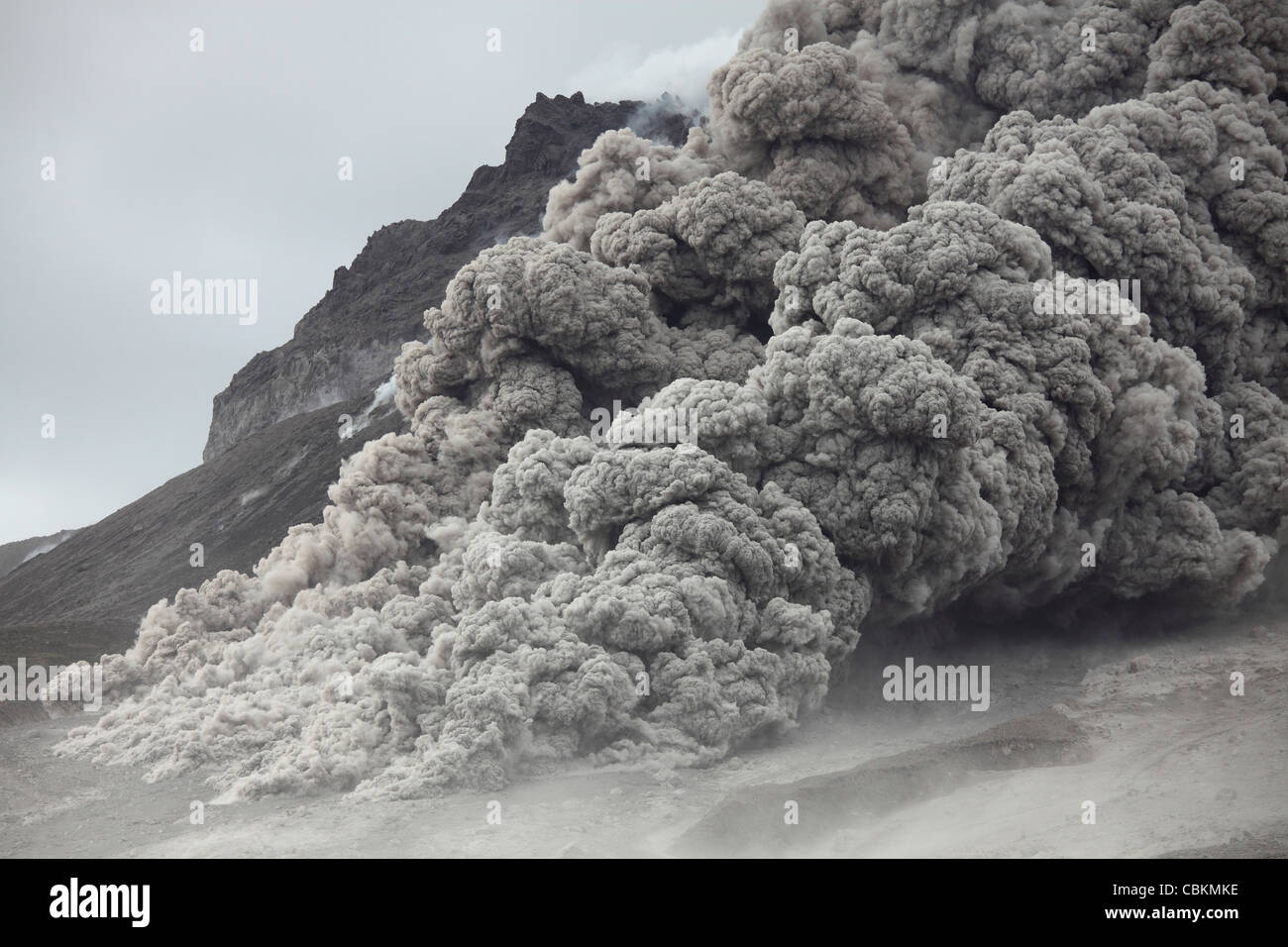how to prepare for a pyroclastic flow