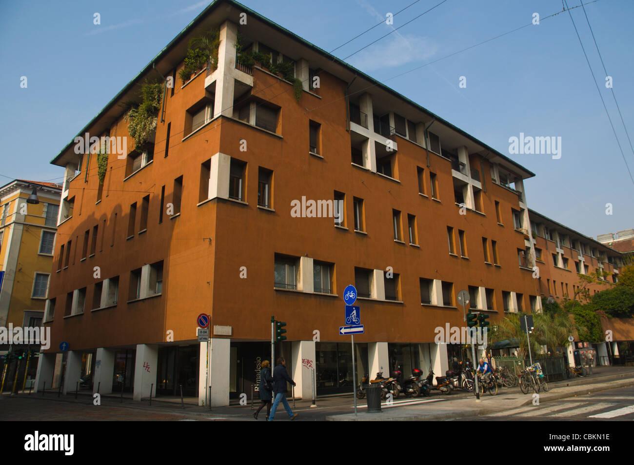 Piazza San Marco square Brera district central Milan Lombardy region ...
