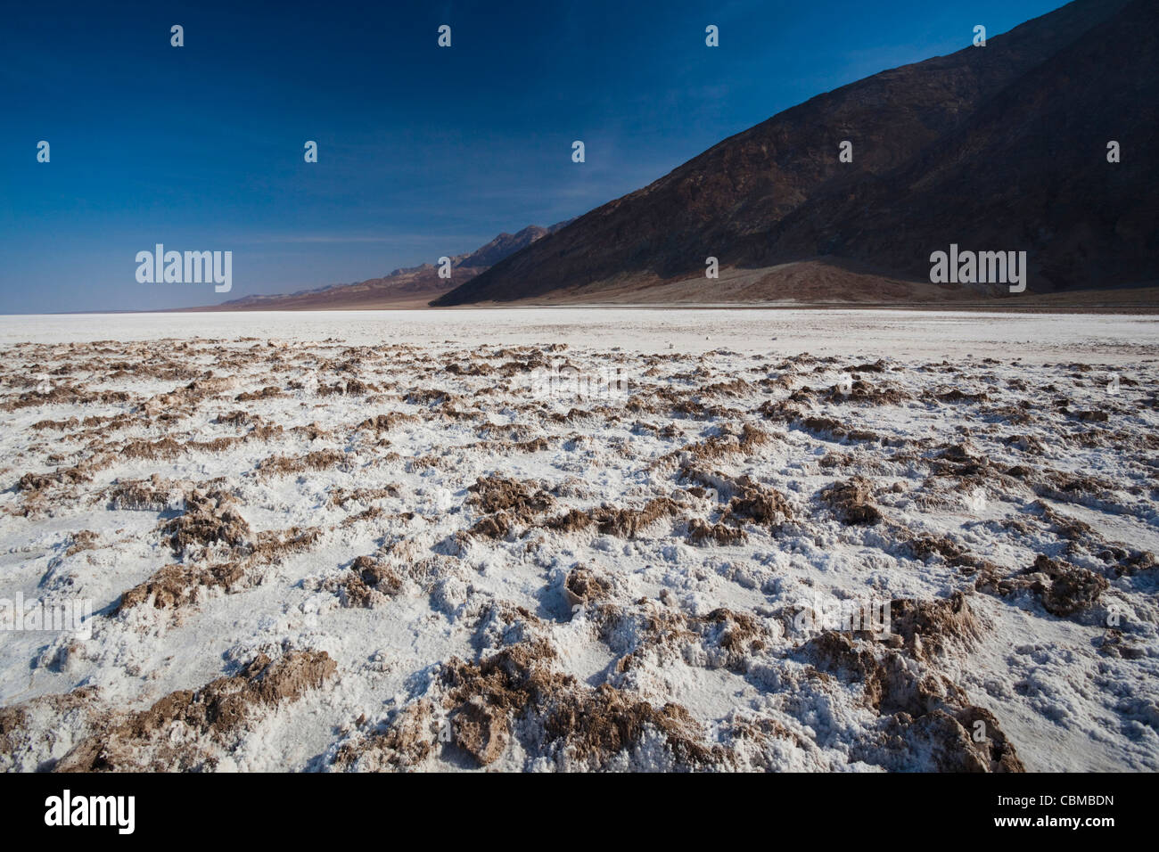 USA California Death Valley NP Badwater Elevation Feet - Usa hemisphere