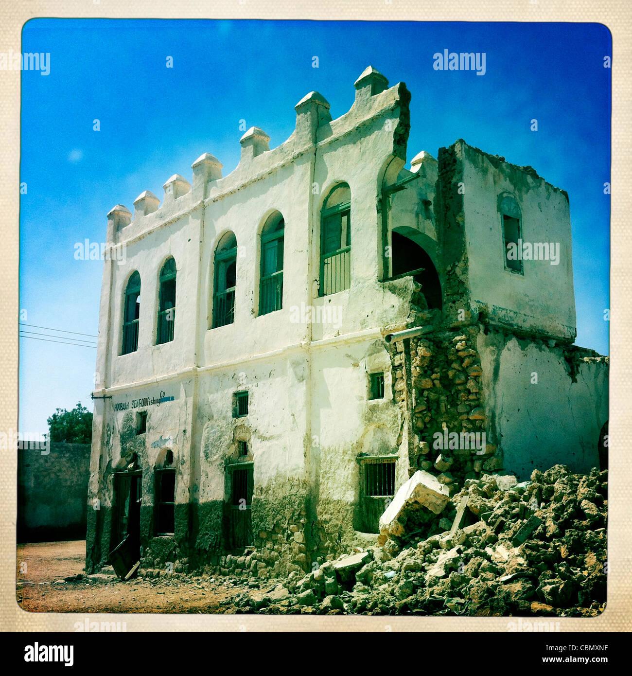 Former Ottoman Empire House Ruin Berbera Somaliland