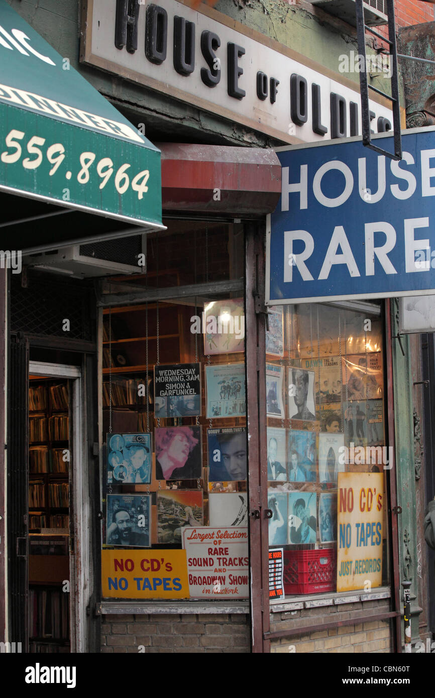 House Of Oldies Vinyl Record Shop Greenwich Village