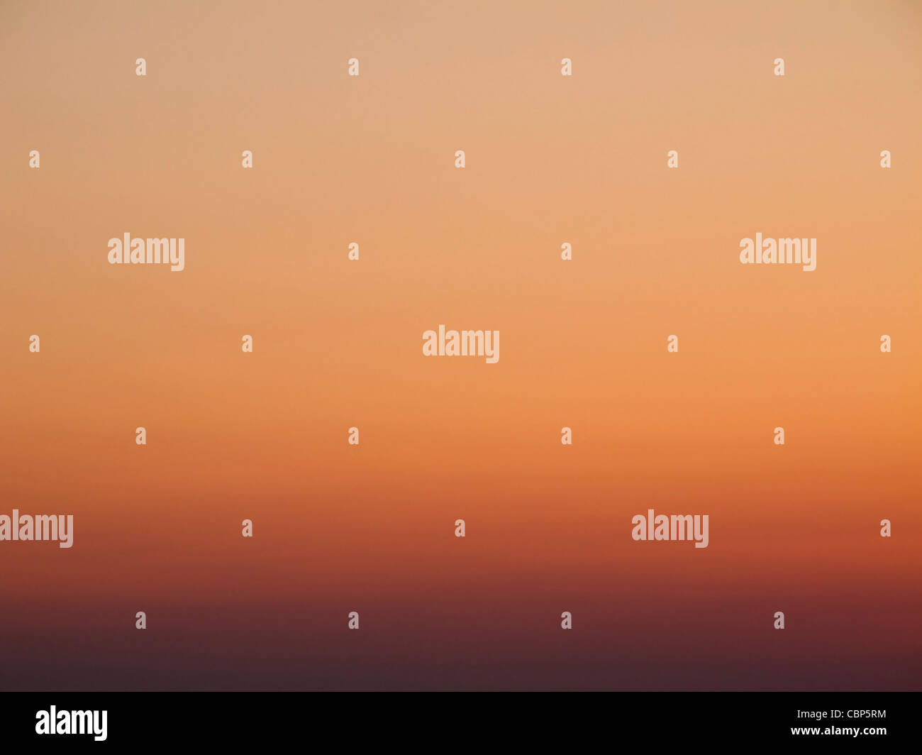 colorful sky after sunset background color gradient from orange