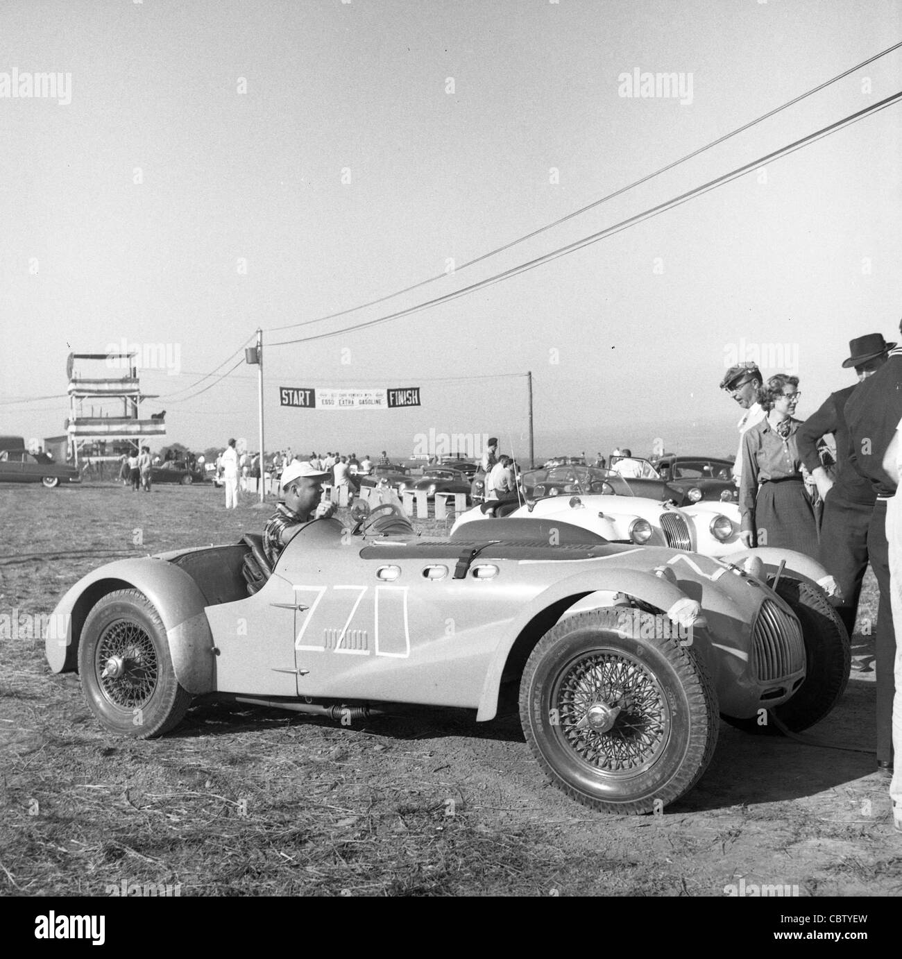 Charmant Sports Car Club Of America Races From The Early 1960s Or Late 1950s. Allard
