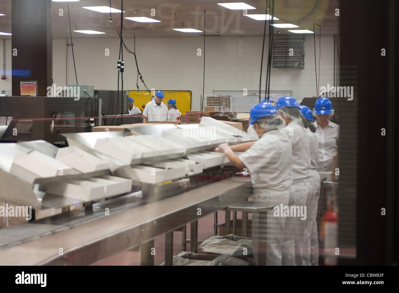 Las Vegas, NV, USA, Ethel M Chocolate factory, Christmas 2011 ...