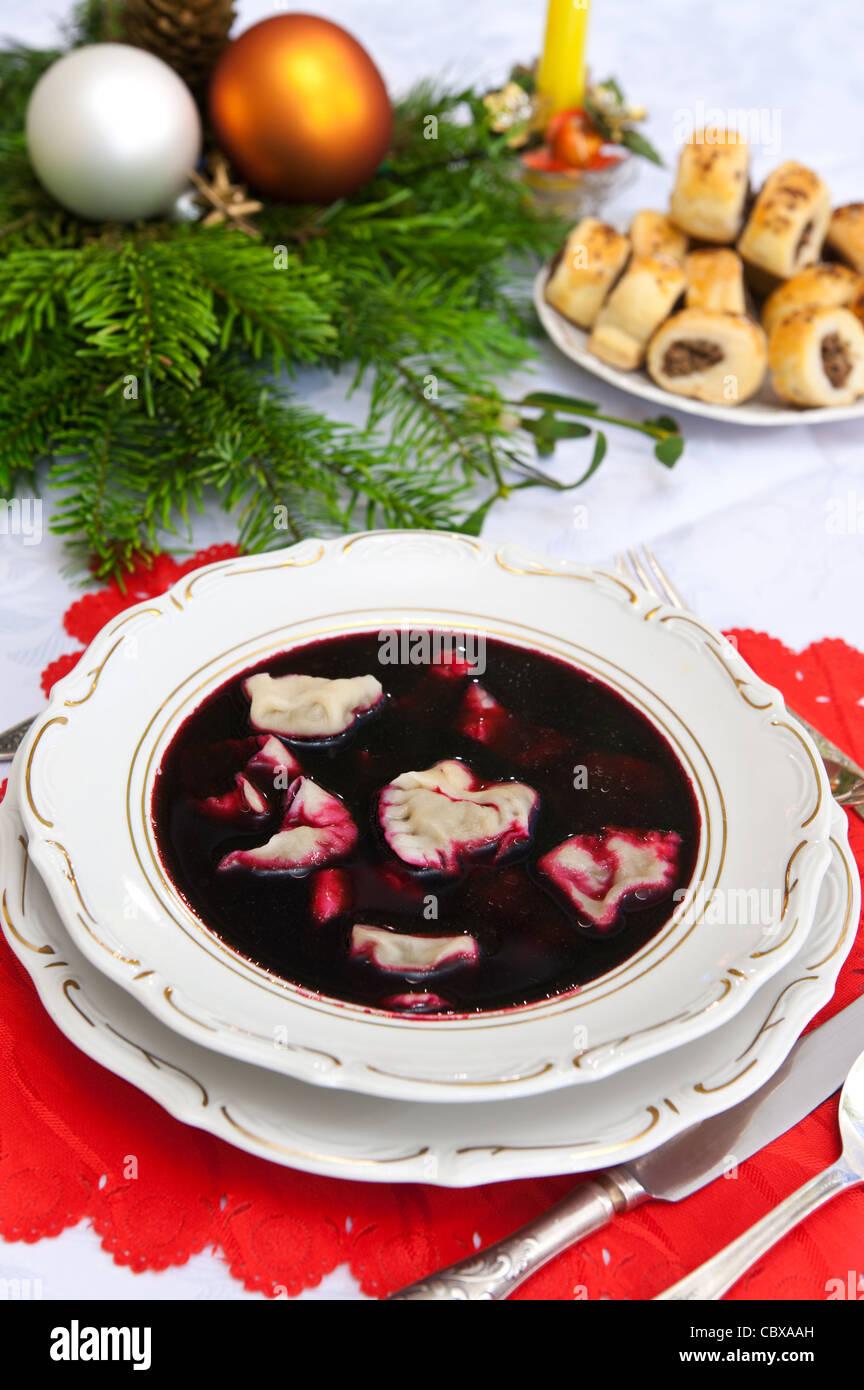 traditional polish christmas dinner soup - Polish Christmas Traditions