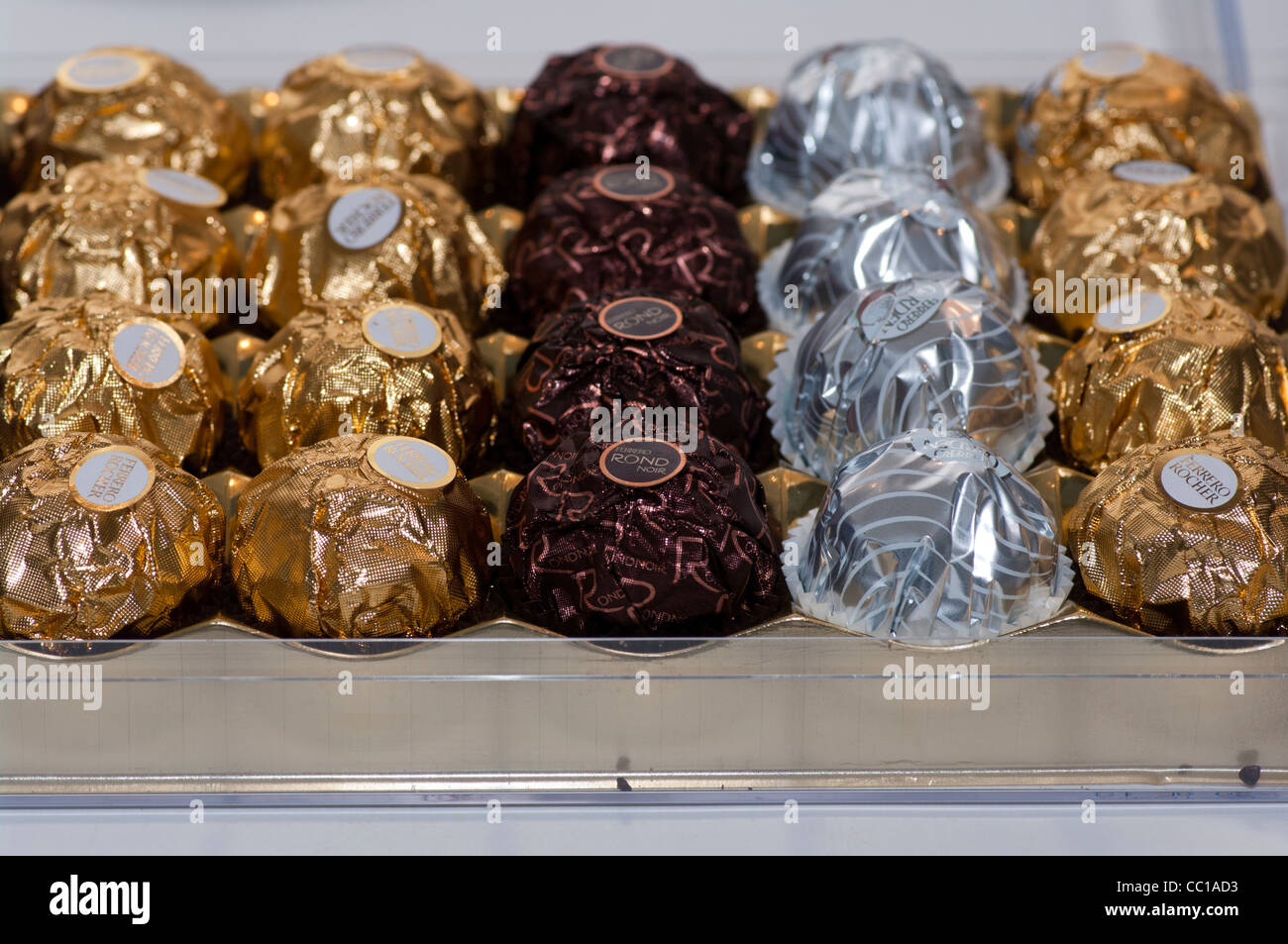 Ferrero Rocher Chocolate Stock Photos & Ferrero Rocher Chocolate ...