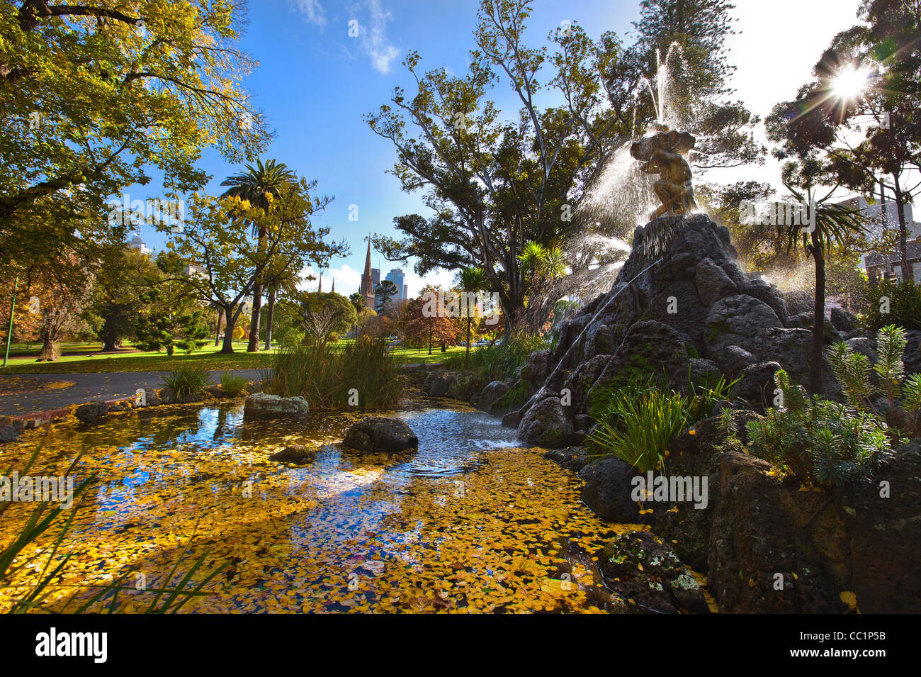 how to go to fitzroy garden